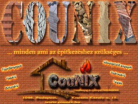 CouNix Tüzelőanyag és Építőipari Kereskedelem