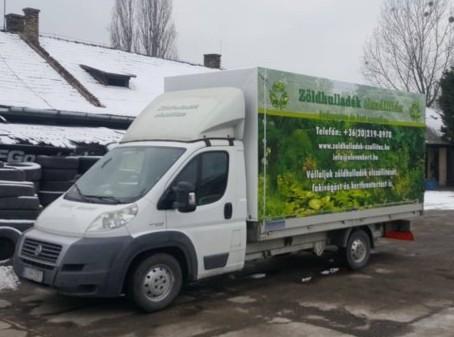 Zöldhulladék elszállítás, Fakivágás - Kovács Zoltán