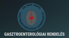 Dr. Papp János - Belgyógyász, Gasztroenterológus Budapest
